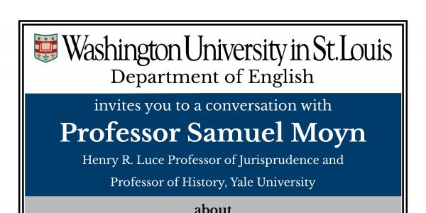 A conversation with Professor Samuel Moyn